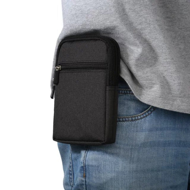 Outdoor Holster Waist Belt Pouch Wallet Phone Case Cover Bag For Motorola Moto Maxx XT1225 Droid Turbo XT1254 Maxx 2 Turbo 2