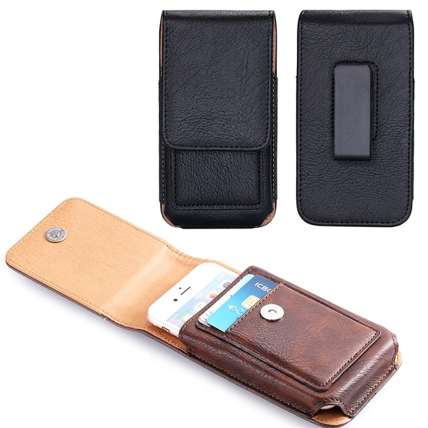 Rotary Holster Belt Clip Mobile Phone Leather Case Pouch For Motorola Moto M/Z2 Force/G5S/G5S Plus/Z2 Play/E4/E4 Plus/E3 Power