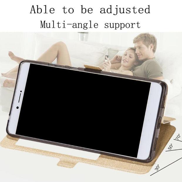 Smart View Window Phone Case For Huawei Honor Note8 EDI-AL10