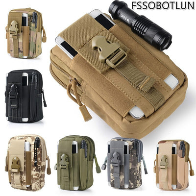 "Tactical Waist Belt Bag Case 6.3 ""below Mobile Cell Phones For Moto G4 Plus/Z/g2/Umi Plus/e/super/rome/Huawei P9/mate 9 Pro 5.5"""