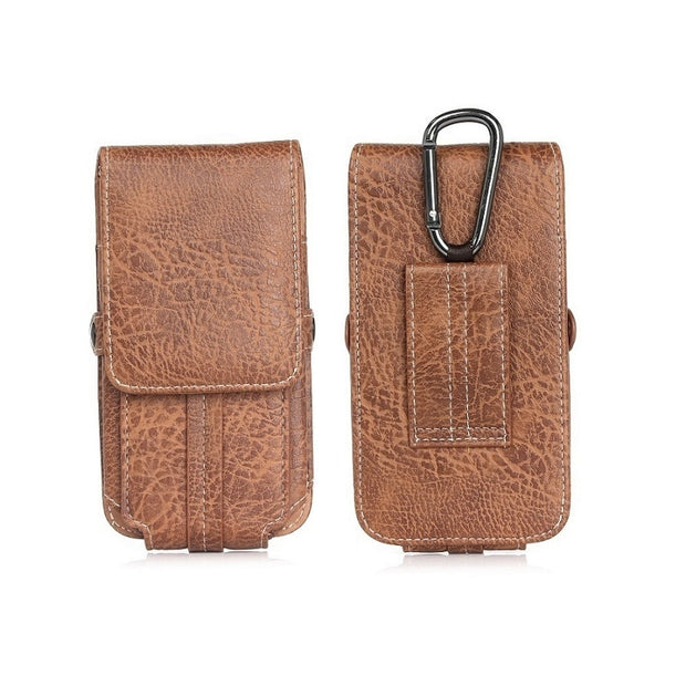 Vertical Belt Clip Case For Xiaomi 5A 5 PLUS Belt Pouch Case Universal Waist Phone Bag For Iphone X 8 7 Plus 4.7''-6.3'' Holster