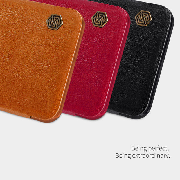Xiaomi Redmi 6 PRO Flip Case Xiaomi Mi A2 Lite Case Nillkin Qin Series PU Leather Cover Case For Xiaomi Redmi Note 6 PRO