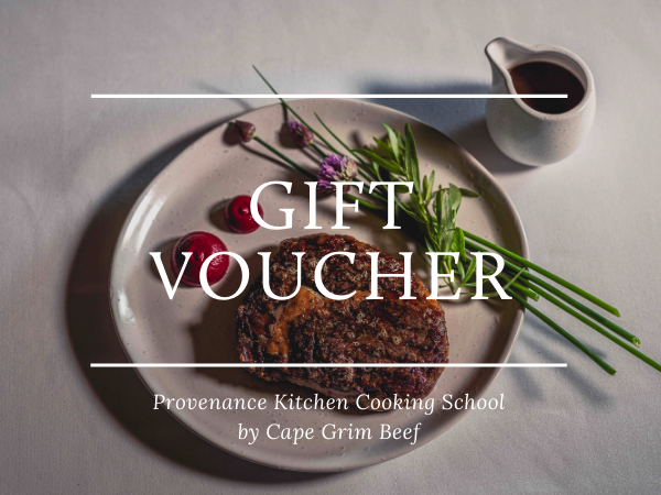 Provenance Kitchen Cooking School Gift Voucher
