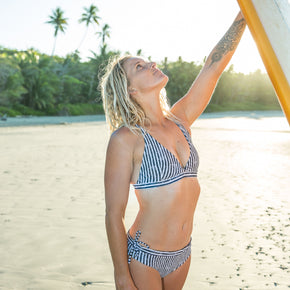 WAIMEA Eco Surf Top - Stripes