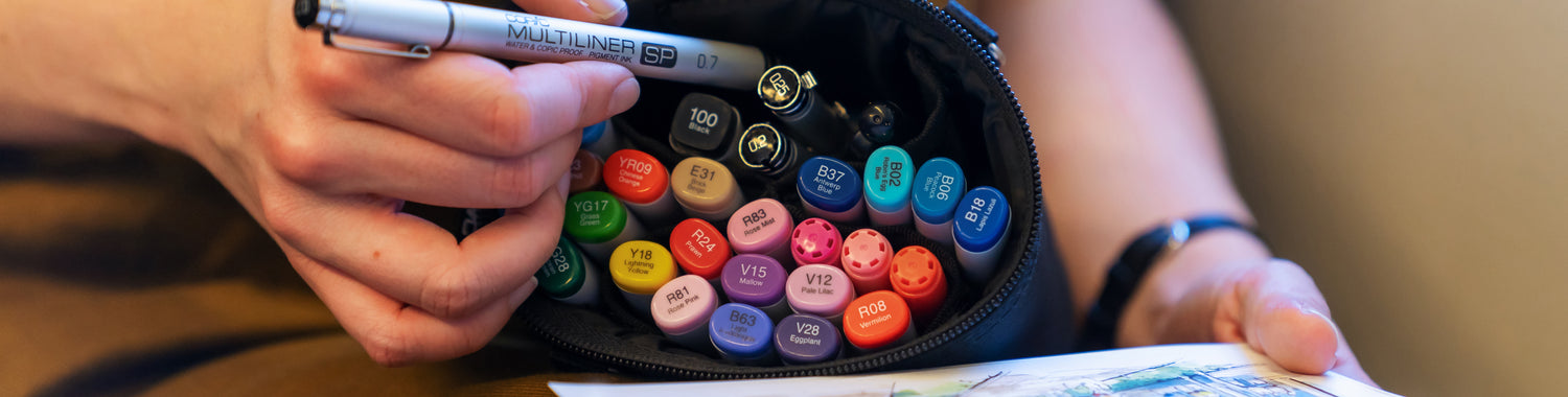 Refilling and Customizing Copic Markers by Type