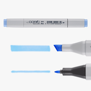 COPIC Classic marker unit and the two type of tips