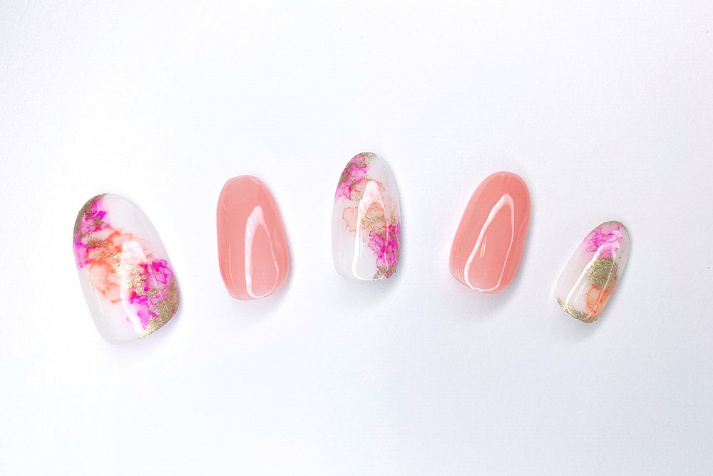 Custom Nails with Copic Ink