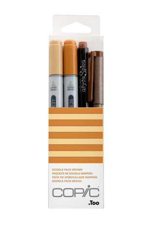 Ciao DOODLE KIT PACK BROWN