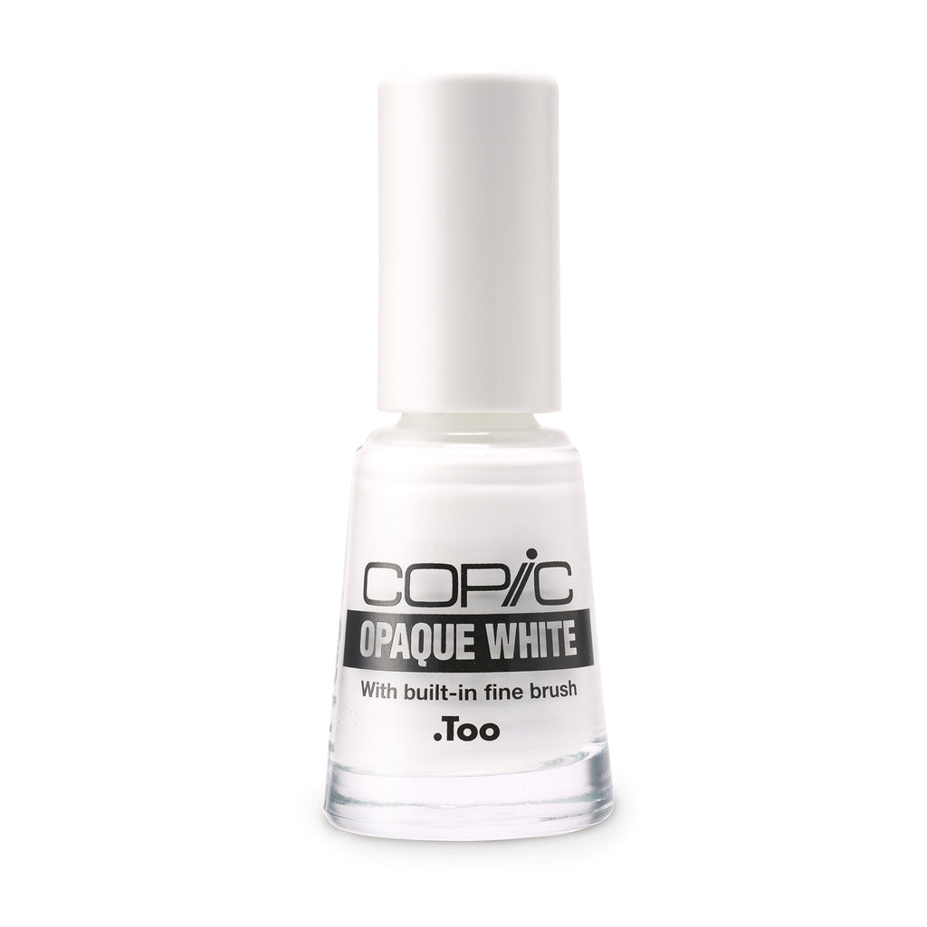 Opaque White Fine Brush 6ml