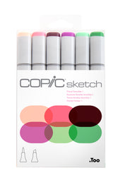 SKETCH MARKER FLORAL FAVORITES 1 6PC SET