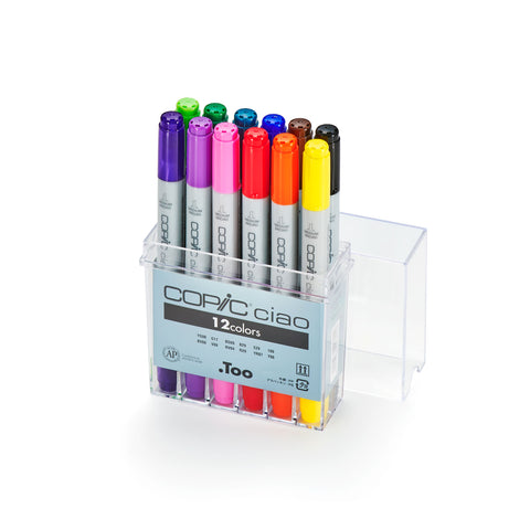 CIAO MARKER 12PC BASIC SET