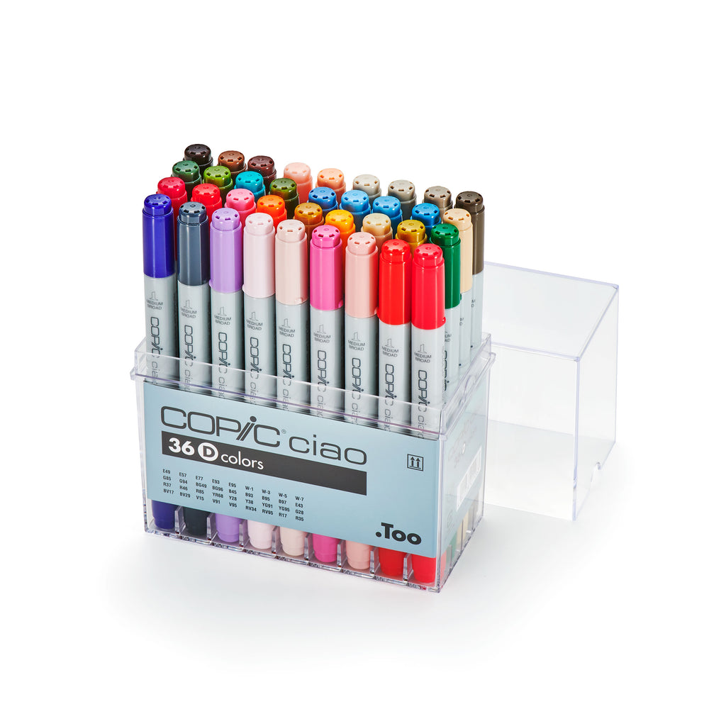 CIAO MARKER 36PC SET D