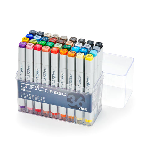 CLASSIC MARKER 36PC BASIC SET