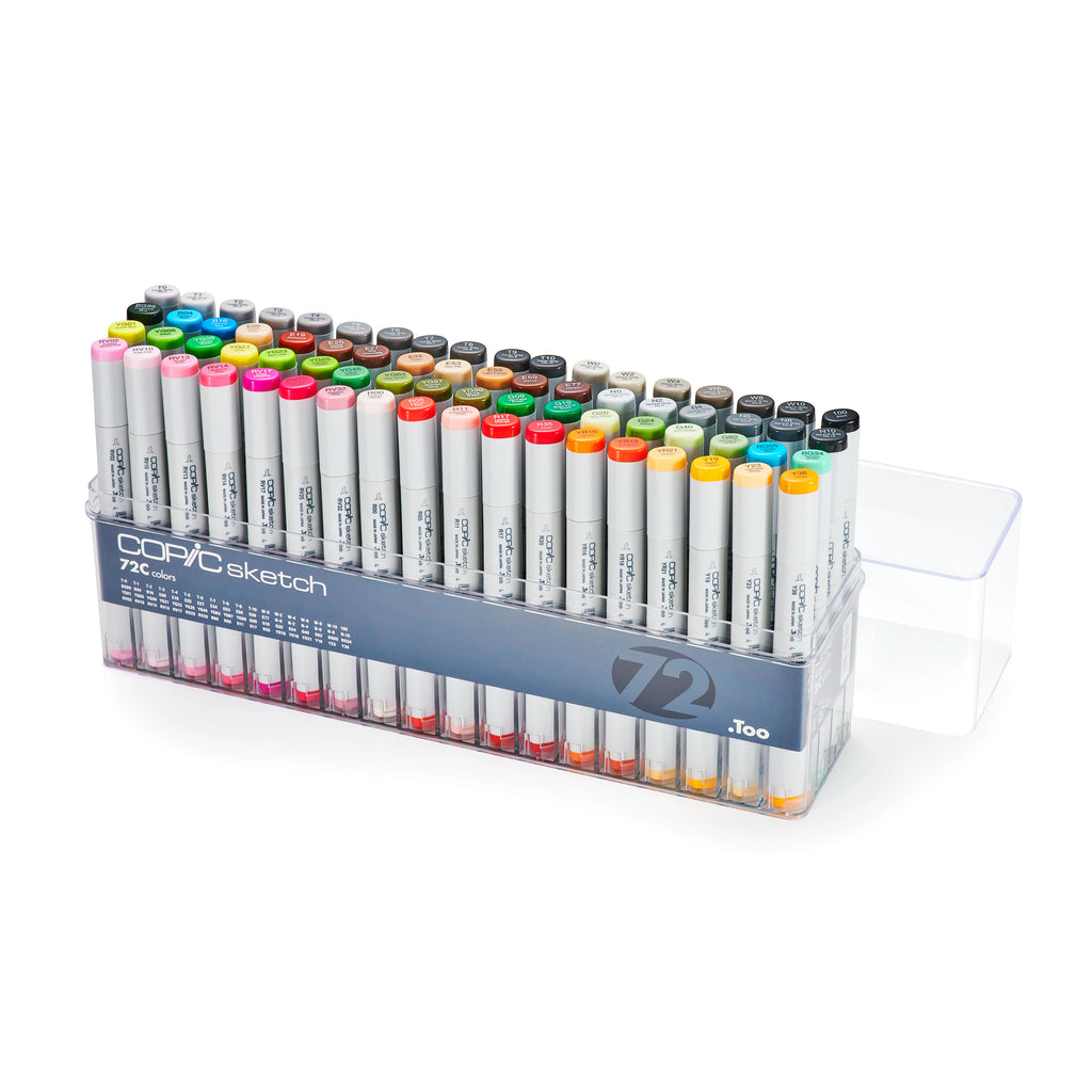 SKETCH MARKER 72PC SET C