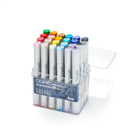 SKETCH MARKER 24PC MANGA SET