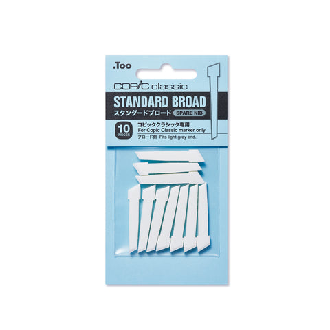 Standard Broad Replacement Nibs