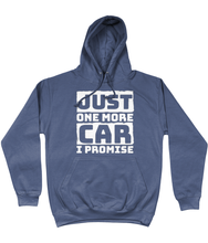 Load image into Gallery viewer, Just One More Car I Promise Hoodie