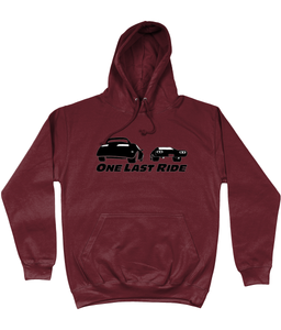 One Last Ride Memory Road Hoodie