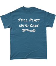 Load image into Gallery viewer, Still Plays With Cars Tee