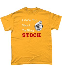 Life's Too Short To Stay Stock Tee