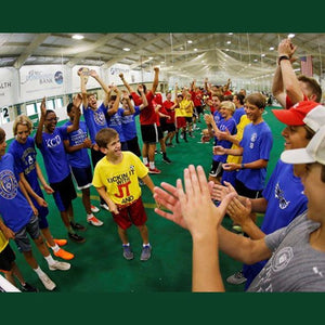 JT & Friends was created by Ken Lolla to expand the connection between special needs children in the community  & the University of Louisville soccer program.