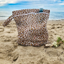 Load image into Gallery viewer, Leopard Water-Resistant Bikini Bag (Set of 2)