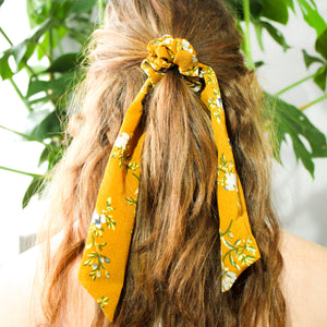 Callie Scrunchie Scarf Set