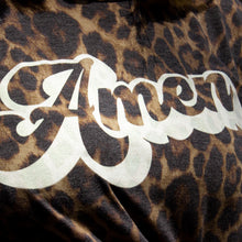 "Load image into Gallery viewer, ""Amen"" Leopard Top"