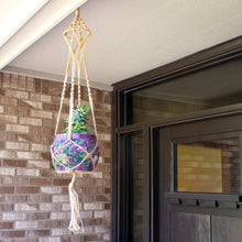 Load image into Gallery viewer, Celestial Macrame Plant Hanger