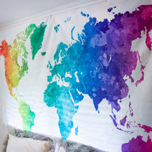 Load image into Gallery viewer, Rainbow Wanderlust Tapestry