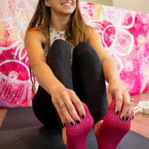 Shimmer Non-Slip Socks | 2 Sizes