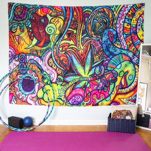 Happy + Whimsy Tapestry