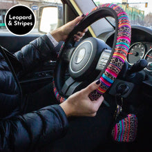 Load image into Gallery viewer, Steering Wheel Cover & Mask Pouch Set | 6 Designs