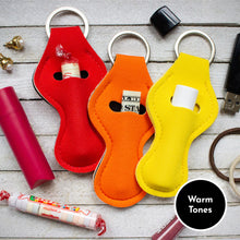 Load image into Gallery viewer, Solid Chapstick/Cash Keychains (Sets of 3)