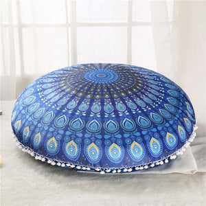 Azure Floor Cushion Cover