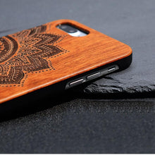 Load image into Gallery viewer, Bamboo Mandala Phone Case