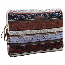 Load image into Gallery viewer, Chocolate Boho Horizontal Laptop Sleeve