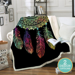 Dreamcatcher Fleece Blanket