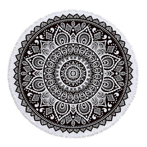 Focus Roundie Beach Towel