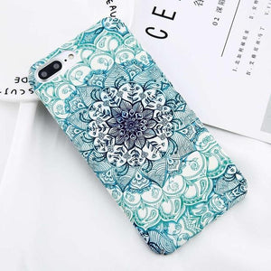 Glow-in-the-Dark Mandala (iPhone) Case