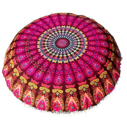 India Floor Cushion Cover