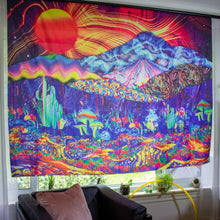 Load image into Gallery viewer, Magical Mushrooms Tapestry
