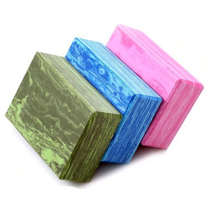 Marble Yoga Blocks (Set Of 2)