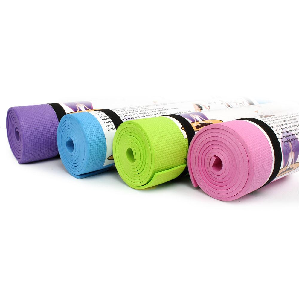 Pastel Yoga Mat (6mm)