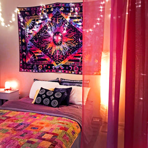 """Out-of-this-World"" Rainbow Tapestry"