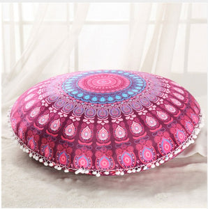Rose Floor Cushion Cover