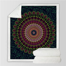 Load image into Gallery viewer, The Staple (Emerald) Fleece Blanket