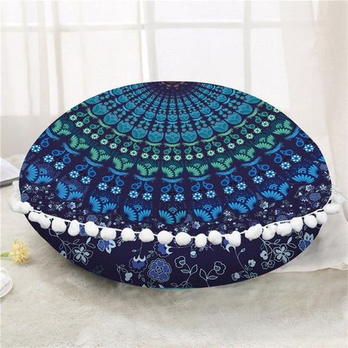 The Staple (Indigo) Floor Cushion Cover
