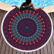 Load image into Gallery viewer, The Staple (Violet) Roundie Beach Towel