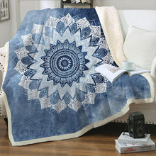 Load image into Gallery viewer, Tranquility Fleece Blanket